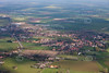 Aerial photo of Sutton On Trent.