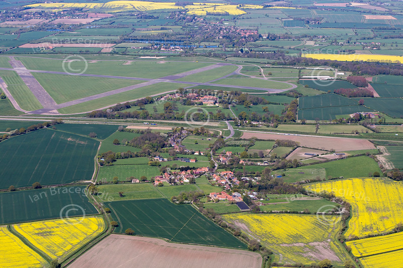 Syerston from the air.