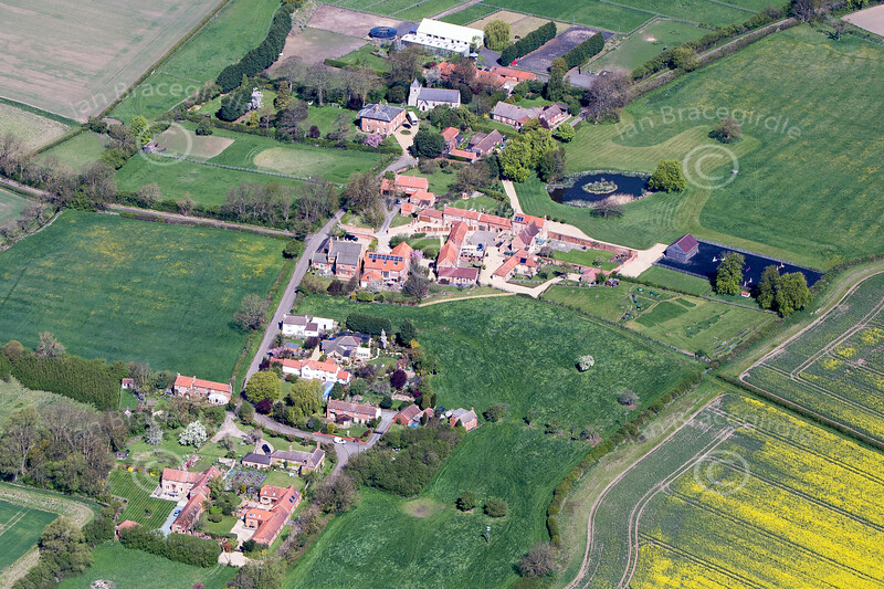 Thorpe from the air.