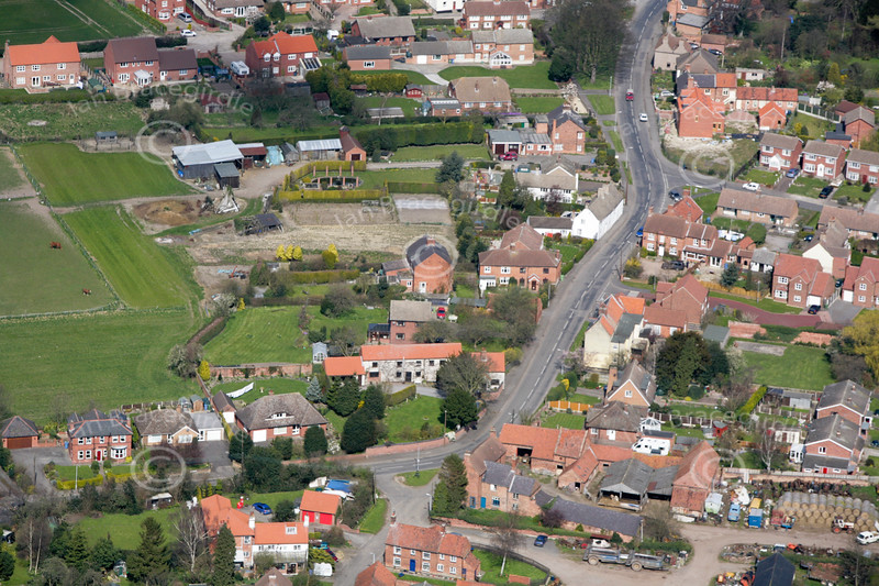 Aerial photo of Tuxford.