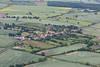Aerial photo of Upton.