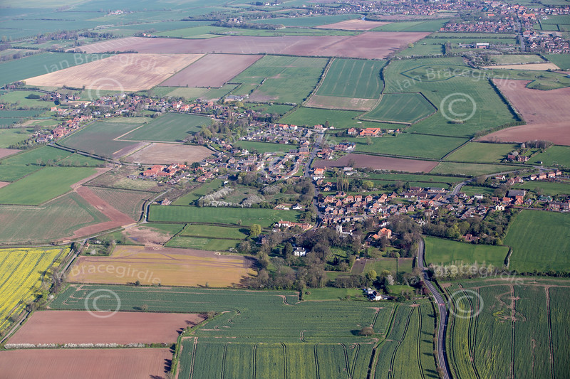 Aerial photo of Walkeringham.