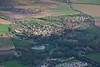 Aerial photo of Wellow.