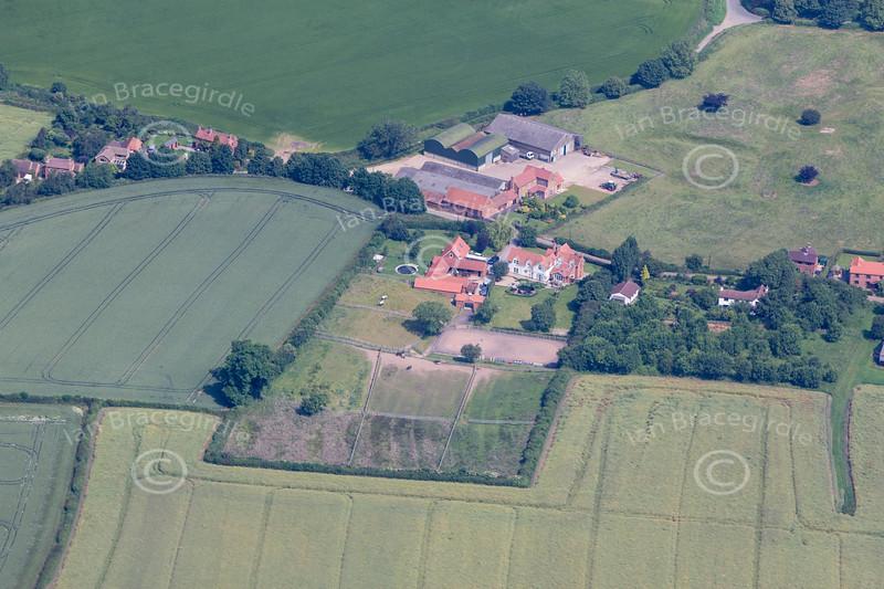Aerial photo of West Markham.