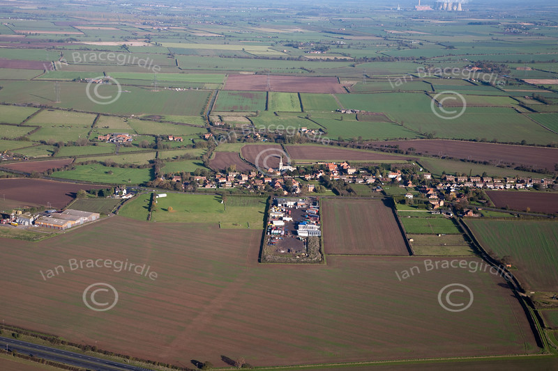 Aerial photo of Weston.