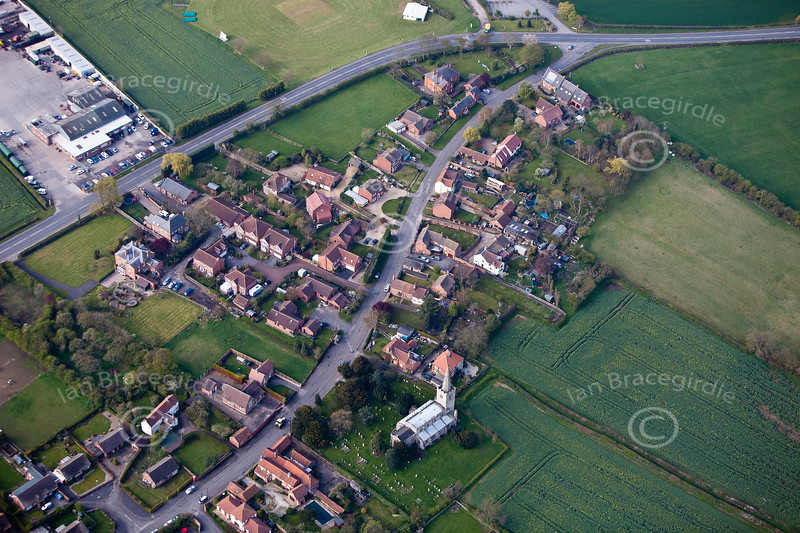 Aerial photo of Weston.