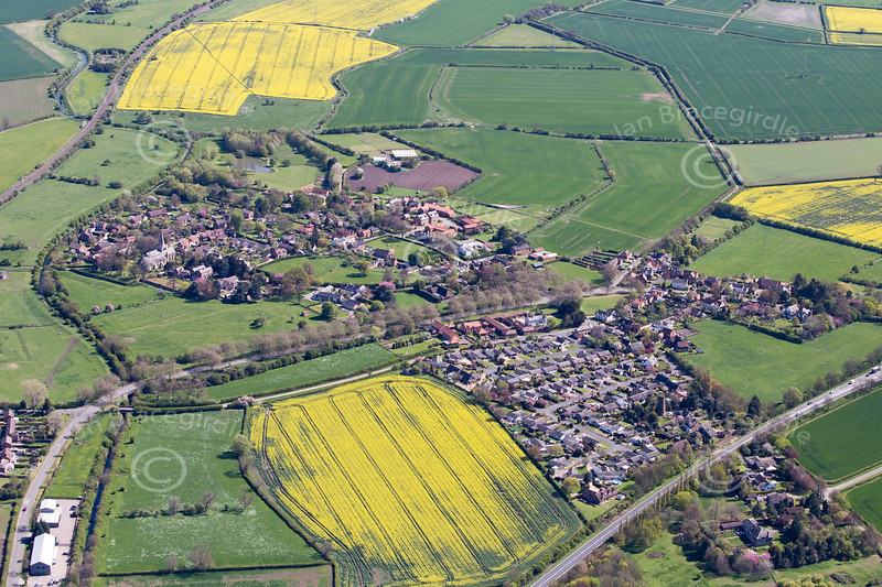 Whatton from the air.