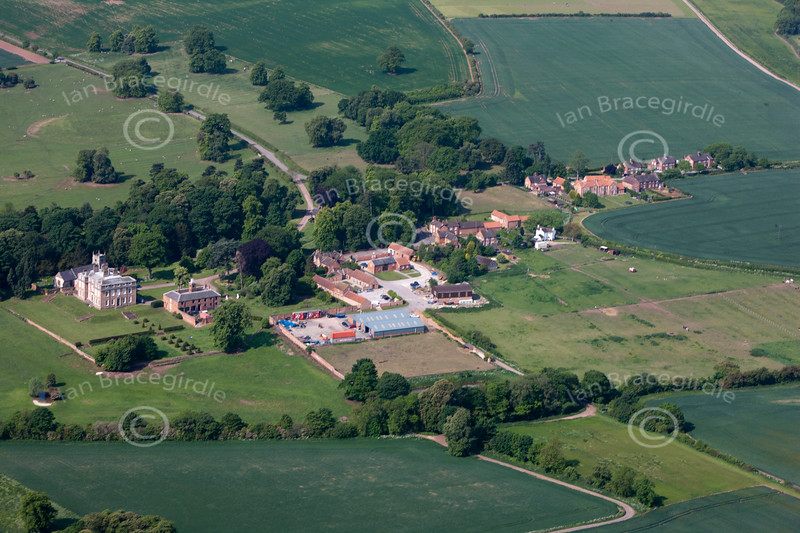 Aerial photo of Winkburn.