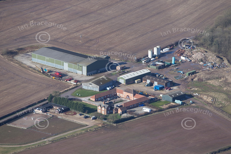 Aerial photo of Winkburn.