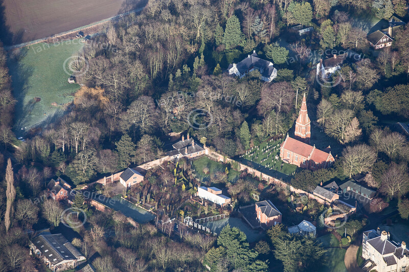 Aerial photo of Winthorpe.