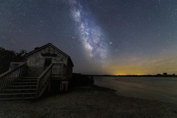 Milky Way over Assateague Island
