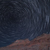 Star Trails near Fisher Towers, Utah