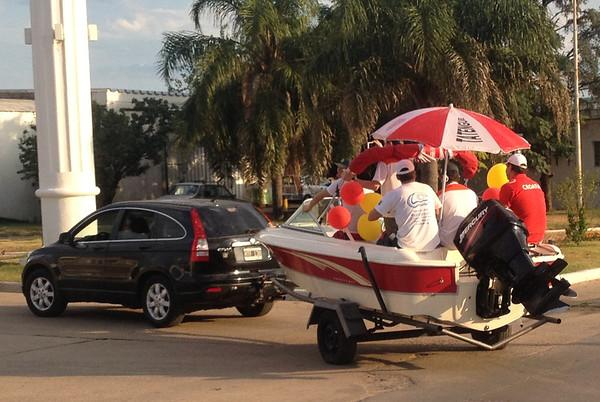 """Coronda Argentina """"Boat Parade"""""""