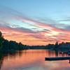 Sunset  Sturgeon Falls, Ontario