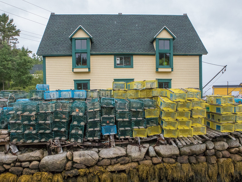 Lobster Dock at Northwest Cove in Margaret's Bay, Nova Scotia