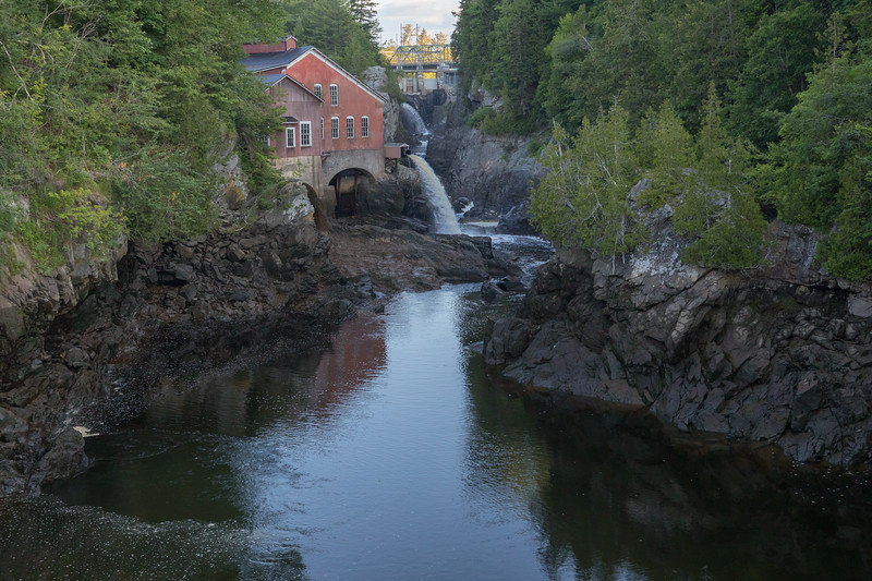 """""""The Gorge"""" in St George, New Brunswick. We discovered a fish ladder, eagles, kingfishers, and cedar waxwings!"""