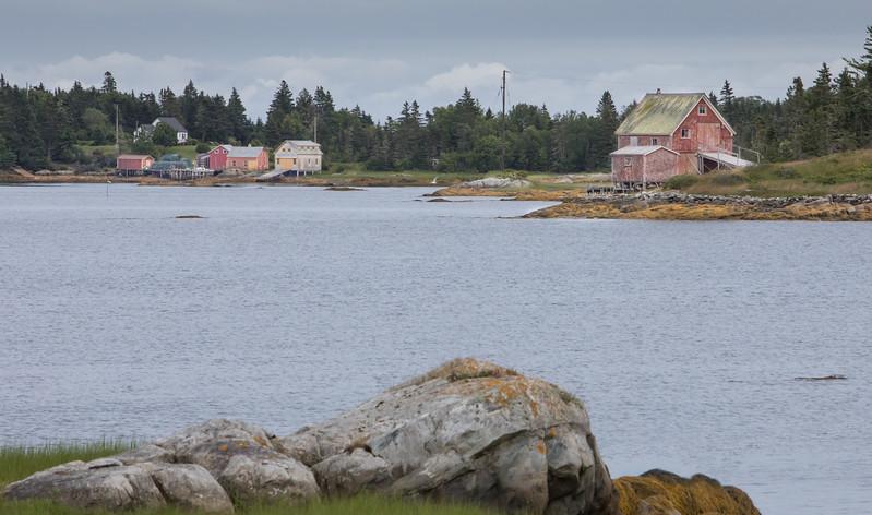 Crescent Beach area scene, Nova Scotia