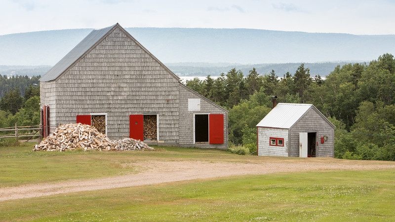 Getting Ready for Winter near North Harbour on Cape Breton