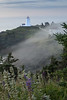 Early Morning Fog Rolling in at SwallowTail Lighthouse on Grand Manan Island, New Brunswick