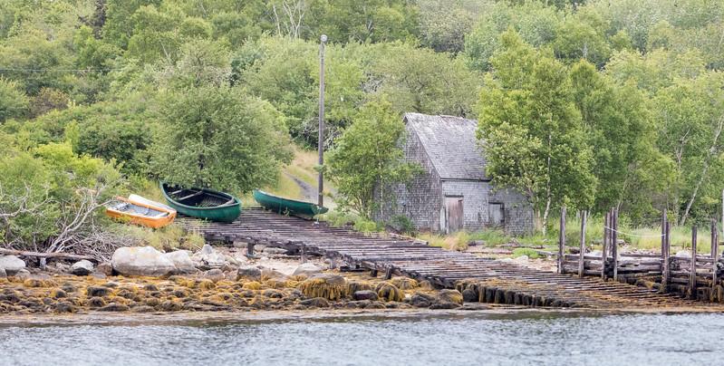 Margaret's Bay scene near Bayswater, Nova Scotia