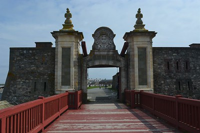 Fortress of Louisbourg - Dauphin Gate.