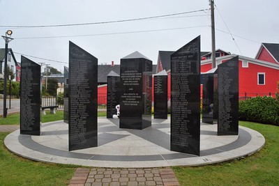 Lunenburg Memorial to Lost Fishermen.