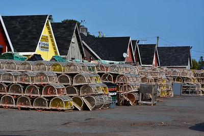 Lobster traps at North Rustico