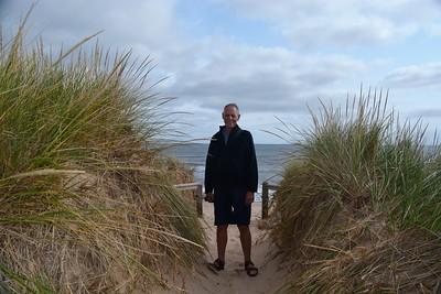 Sand dunes at Basin Head