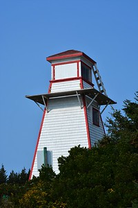 Lighthouse at Cabot Beach.