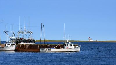 Alberton harbour lighthouse.