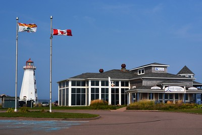 North Cape Lighthouse and Visitor Center.