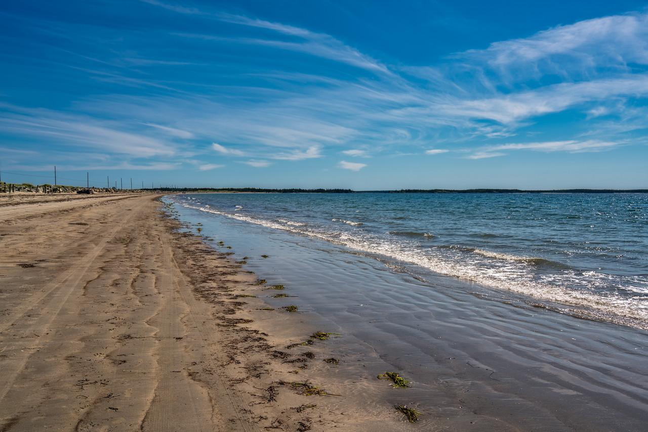 Crescent Beach in Nova Scotia