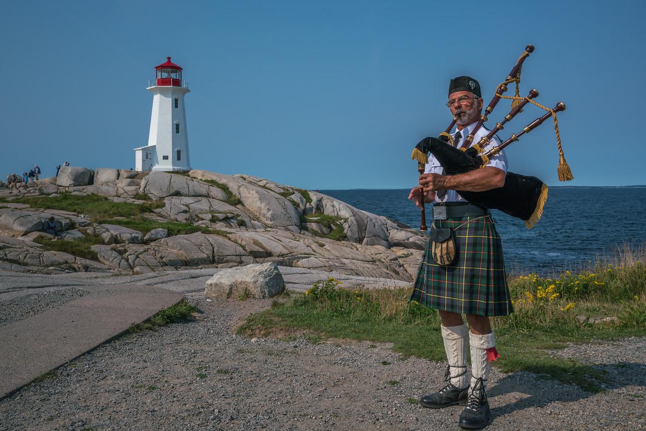 Living local at Peggy's cove, Nova Scotia