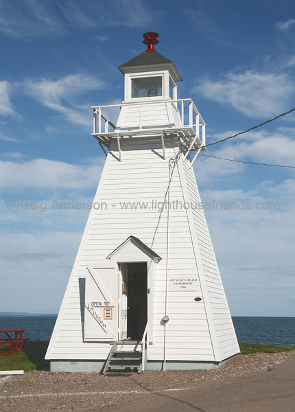 Spencer's Island Lighthouse