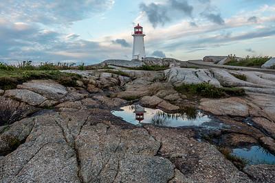 Lighthouse at Peggy's Cove, Nova Scotia