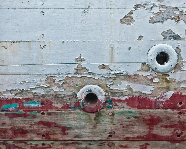 Dry Dock Hull Detail - Lunenburg Harbor, NS