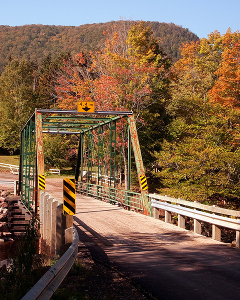 Margaree River Bridge - Nova Scotia - John Remy - October 2011