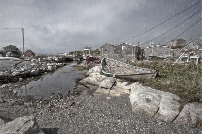 Peggy's Cove Back Harbour