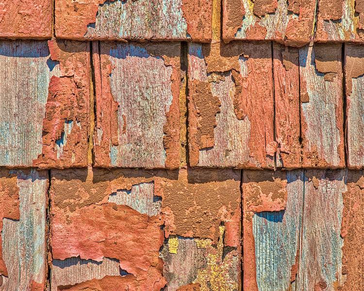 Peeling Cedar Shakes - Lunenburg Foundry & Engineering - Lunenburg, NS