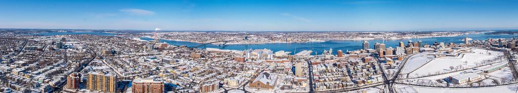 Halifax Winter Panorama
