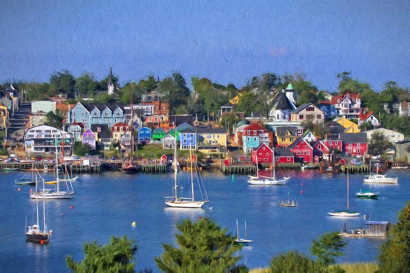 Lunenburg Harbor