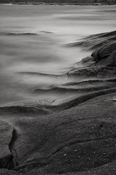 The Fog at Peggy's Cove - Nova Scotia - Andrew Ehrlich - October 2012