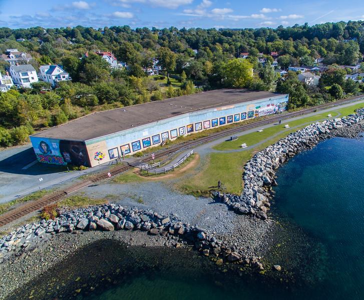 Dartmouth Cove Mural