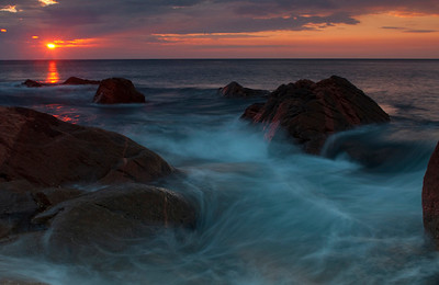 Sunrise at Lakies Head - Nova Scotia - John Remy - October 2011