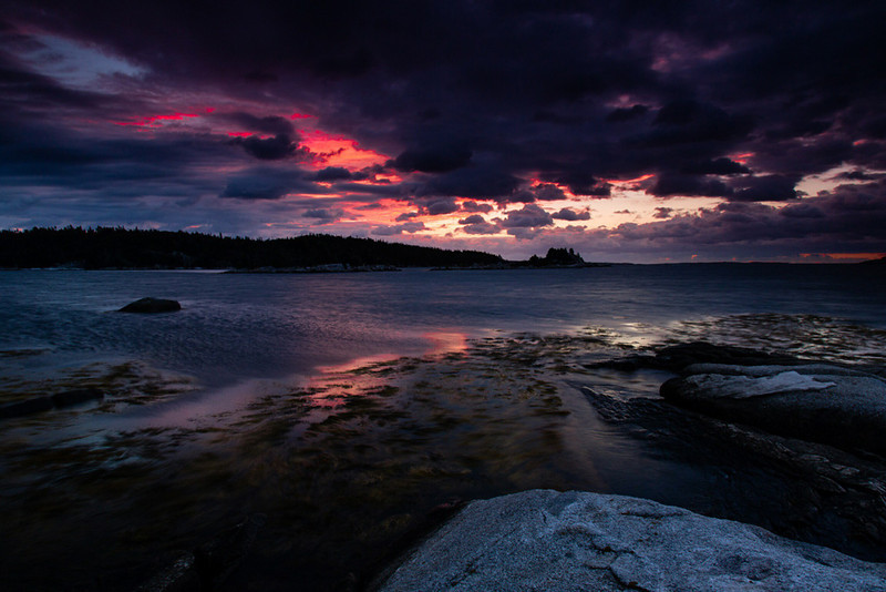 Stormy Sunset - Nova Scotia - Andrew Ehrlich - October 2012
