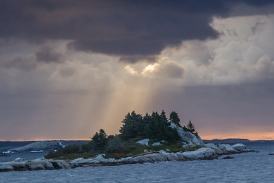 Dawn at Sol Point - Nova Scotia,Canada - Cosmas Liu - October 2012