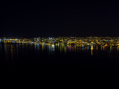 Halifax Night Skyline