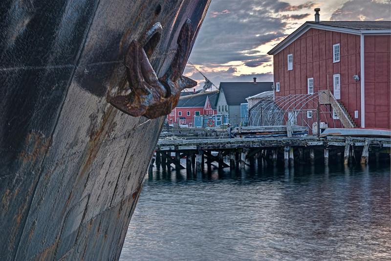 Dock Scene - HDR - Lunenburg, NS