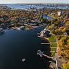 Lake Banook overlooking Halifax Harbour