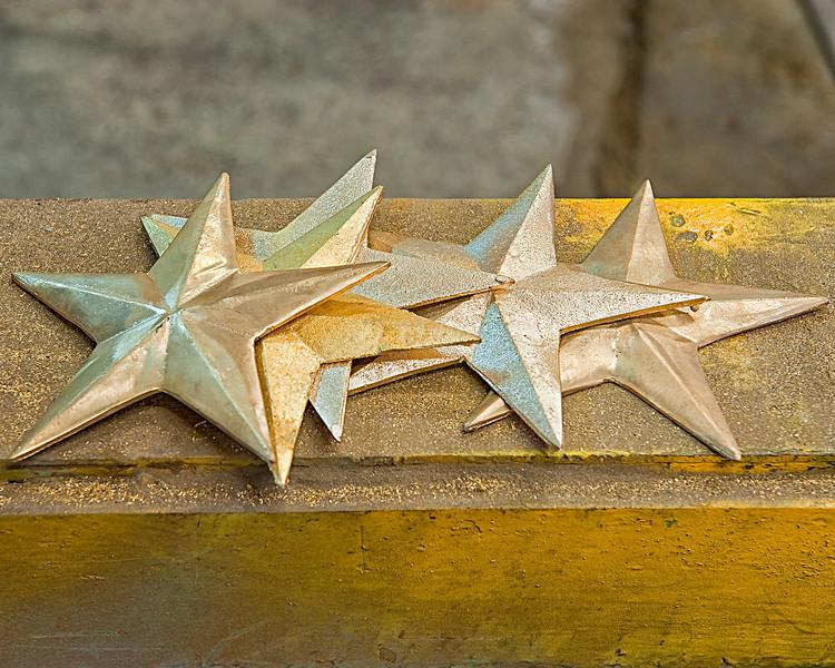 Brass Stars - Lunenburg Foundry & Engineering - Lunenburg, NS